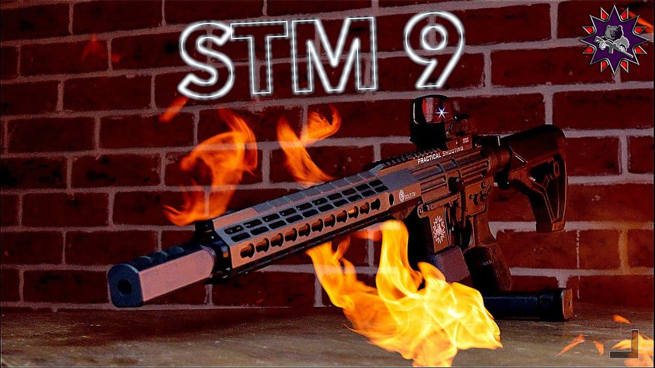 STM 9 - российский карабин 9х19