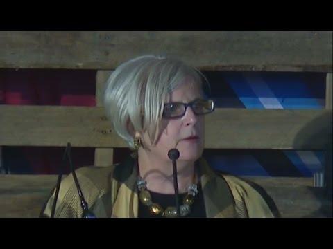 Mary Kramer speaks at Detroit Homecoming