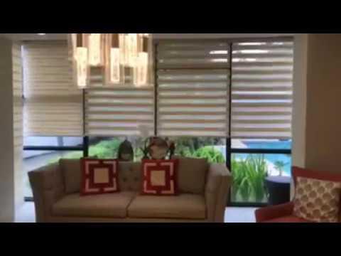 Modern Duplex Motorized Roller Blinds Blinds Abu Dhabi and Interiors Abu Dhabi