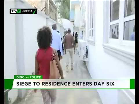 Police vs Dino: Siege to residence enters day six