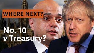 Number 10 vs the Treasury?