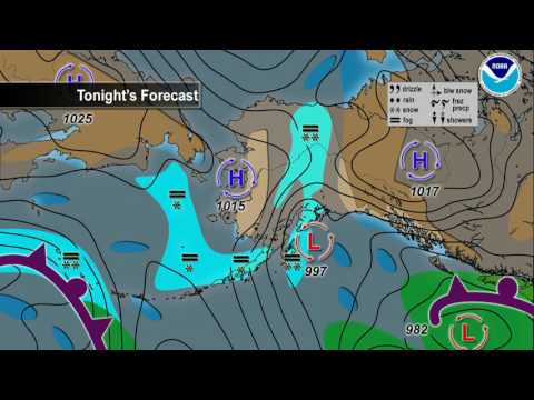 January 20, 2017 Alaska Weather Daily Briefing