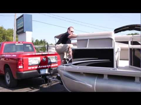 Godfrey Pontoons Top Dealer 2012 (Krupa's Boat Mart).mov