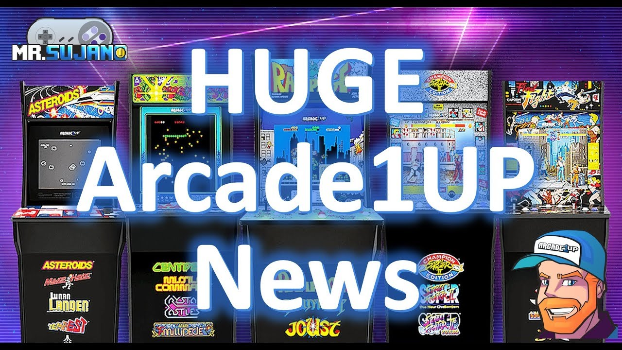 Arcade1UP Breaking News! Version 2 cabinets with upgraded parts!