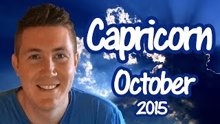 Horoscope for Capricorn October 2015 | Predictive Astrology