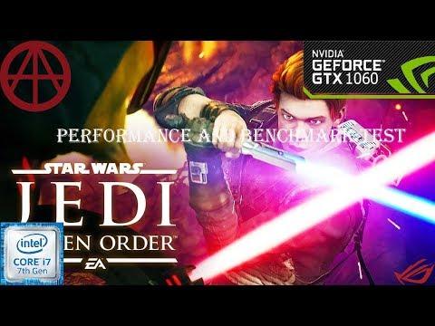 Star Wars Jedi: Fallen Order-GTX1060 6GB-cor I7 7700 | ROG GL502VM