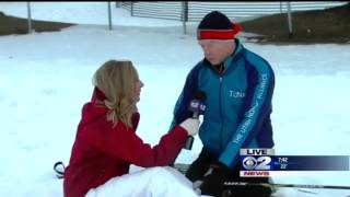 KUTV Reporter Brooke Graham Passes Out On Air, Continues to Report thumbnail
