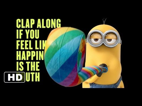 Despicable Me 2  Happy Music  2013 Pharrell Williams HD
