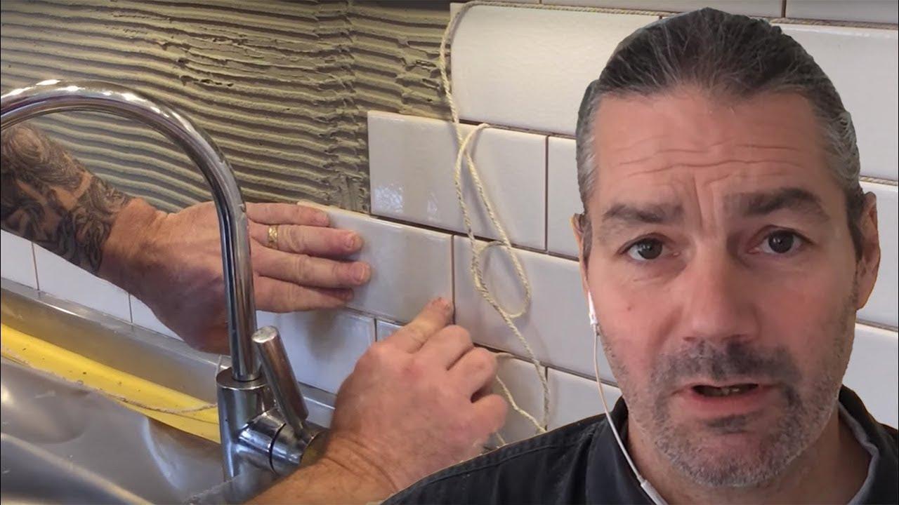 Sätta kakel i kök - YouTube