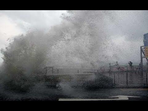 Typhoon Hato kills three in Macau and batters Hong Kong