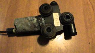 bmw e90 2005 n46 defective auxiliary water pump