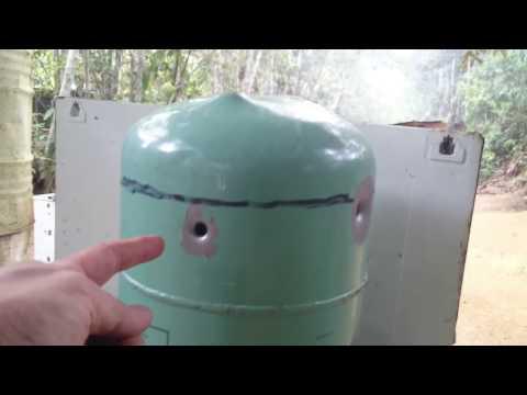 Balística teste na chapas de ferro 380 EXPO X 380 ETOG!
