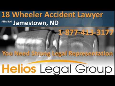 Jamestown 18 Wheeler Accident Lawyer & Attorney - North Dakota