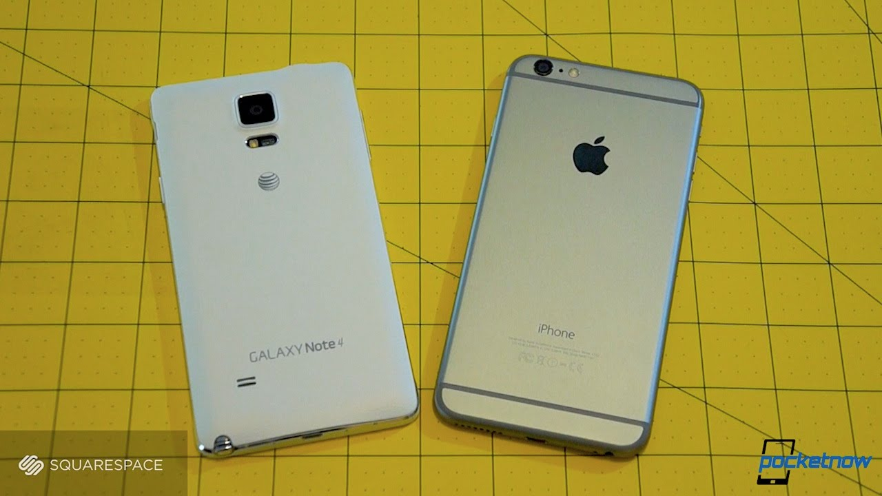 iphone 6 notes galaxy note 4 vs iphone 6 plus pocketnow 11371