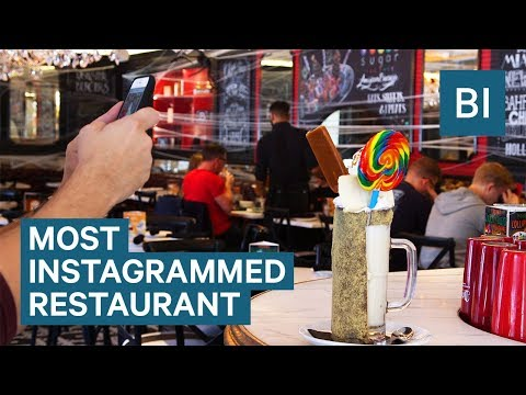 Inside Sugar Factory — The Most Instagrammed Restaurant In A