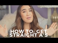 HOW TO GET STRAIGHT A's IN COLLEGE   MY SECRETS
