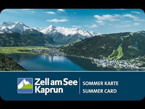 Zell am See-Kaprun Summer Card