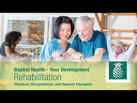 Why Rehabilitation Professionals Work at Baptist Health – Culture and Teamwork