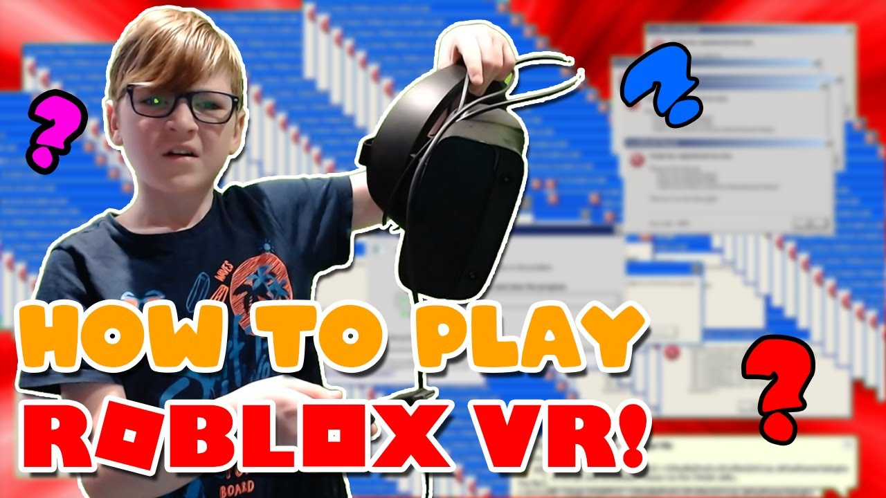 How To Play Roblox Vr With An Oculus Rift S Vr Sandbox Youtube