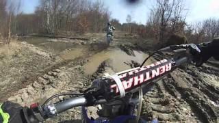 Motocross en foret + Fail 2016 : 80YZ,250KX