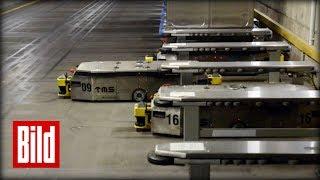 91 Roboter düsen seit Jahren durch den Keller - Uni-Klinik-Köln