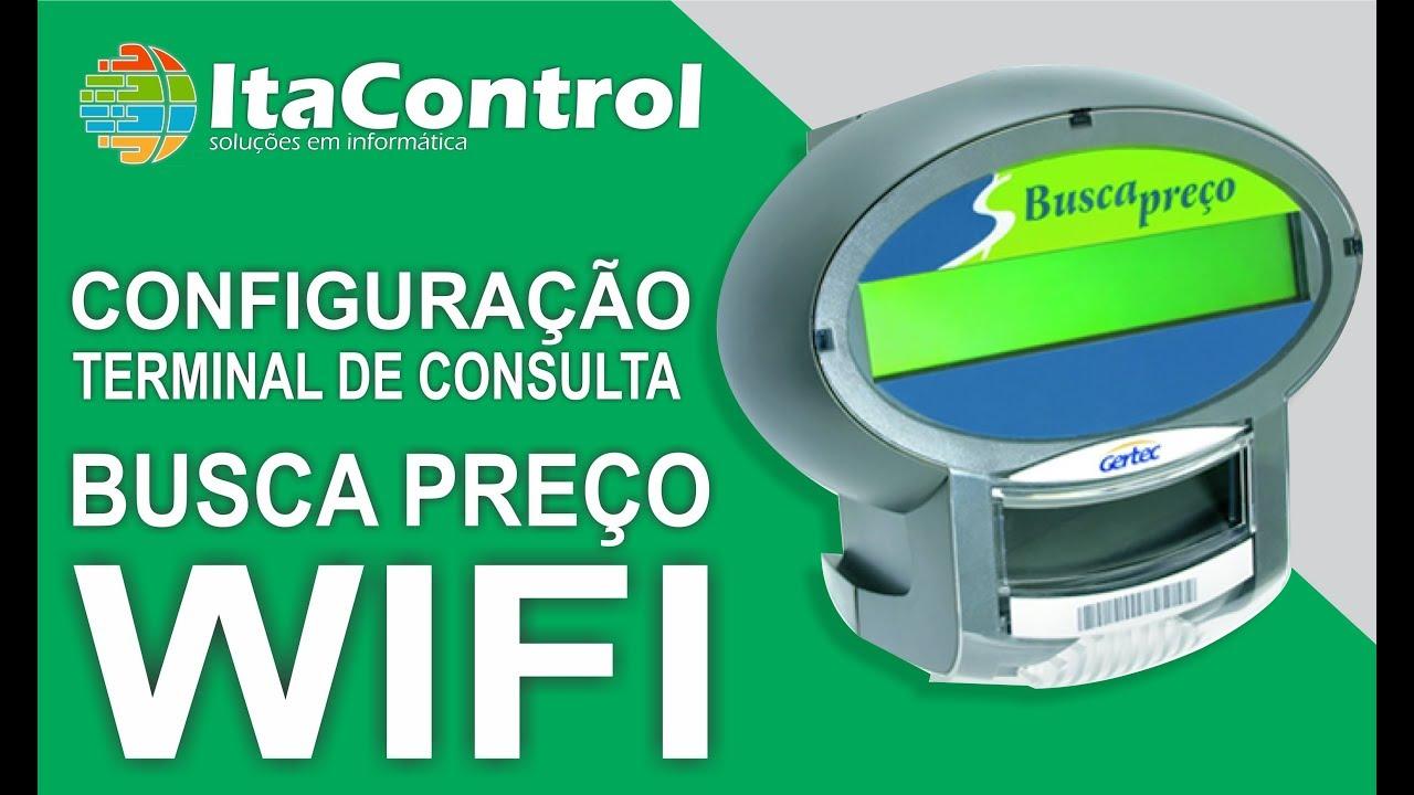 85069d17e2 Configuração Busca Preço Gertec WIFI - YouTube