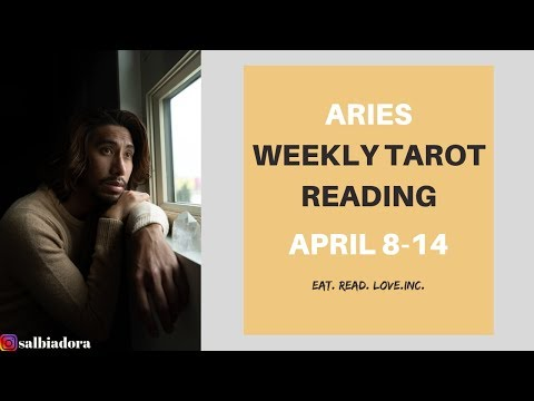 aries weekly 8 to 14 love tarot