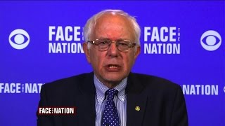 Bernie Sanders explains why he's different from Hillary Clinton