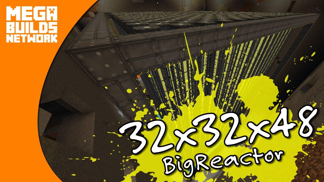 BigReactors: Max Size 32x32x48 - Minecraft MegaBuilds