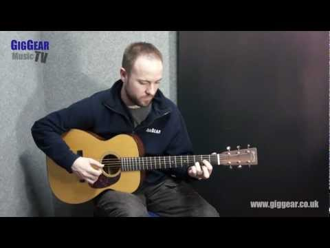 Martin 00-18V Acoustic Demo Video Review