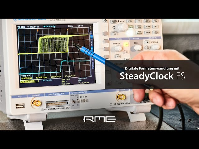 SteadyClock FS - Referenzklasse für digitale Taktung erklärt