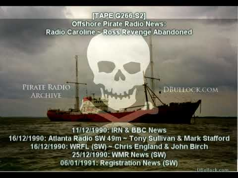[G266-S2] Radio Caroline Air Lift ~ 11/12/1990 ~ Offshore Radio