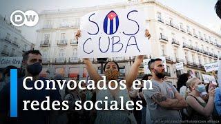 Cuba: redes sociales fueron clave para estallido de protestas
