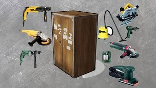 видео шкаф для инструментов