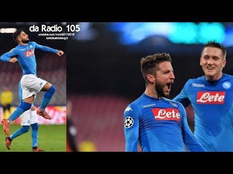 Radio 105 - Napoli-Shakhtar Donetsk 3-0 - Radiocronaca di Niccolò Ceccarini & Giovanni Galli