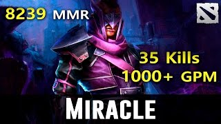Miracle Farm&Kill Maschine Top 1 MMR in the World Dota 2