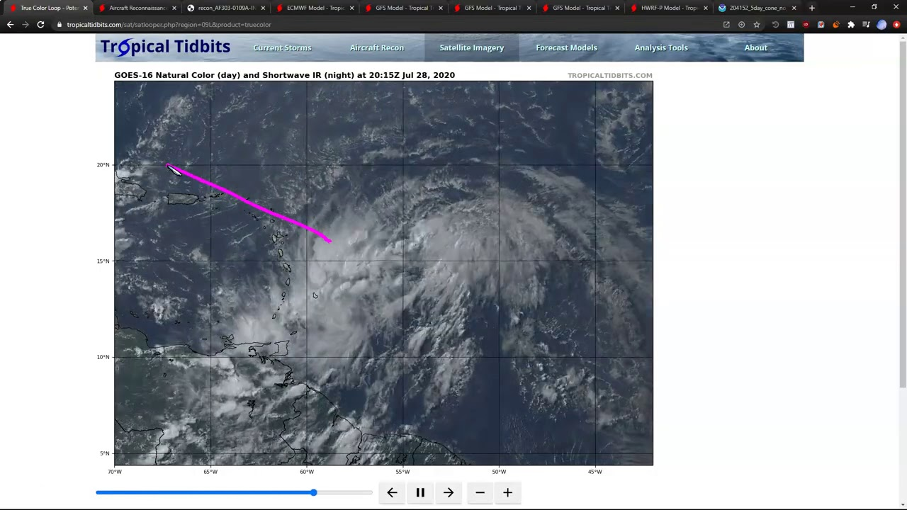 Tropical Storm Isaias expected to form Wednesday, head for Florida ...