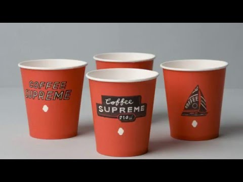 amazing custom paper cups designs youtube