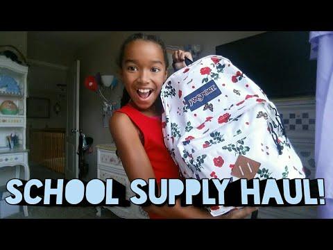 School Supply Haul!