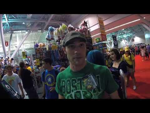 Vermin Supreme setting explosions at Boston Comic Con