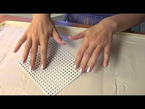 Quadri materici | Come si realizzano con lo stucco - YouTube