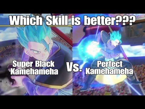 Xenoverse 2 Skill Test Super Black Kamehameha Vs. Perfect Kamehameha!!!