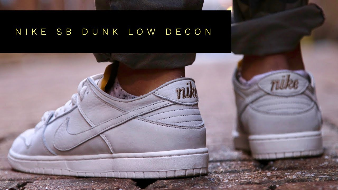 newest a9e96 981b7 NIKE SB DUNK LOW DECON True to form REVIEW + ON FOOT