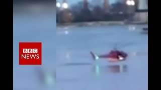 Five die in New York helicopter crash - BBC News