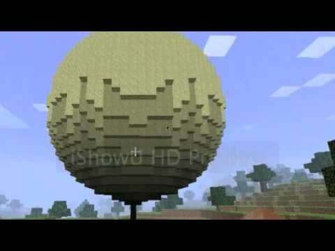 Thumbnail: Minecraft falling sand sphere