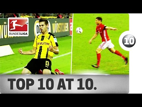 Top 10 Goals after 10 Matchdays - Alonso, Lewandowski, Guerreiro & More