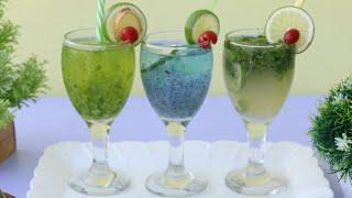 তিন ধরনের লেবুর শরবত রেসিপি/রমজান রেসিপি ২০১৮/জুস রেসিপি/3 Type Lemon Juice Recipe/Juice Recipe