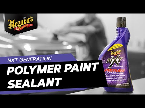 Meguiar's NXT Polymer Paint Sealant – Glossy, Fast, Easy with Long Lasting, superior Protection