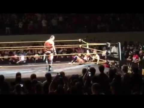 NXT Concord Post-Match Celebration & Fallout