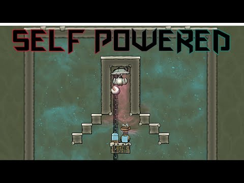 Self Powered Oxygen Production! Oxygen Not Included Tutorial